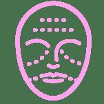 chemical skin peel icon